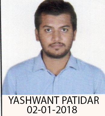 Profile picture of Yashwant Patidar at Vulpith Excel jobs from home
